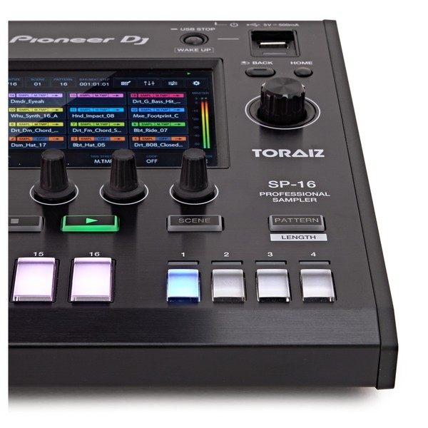 Pioneer DJ TORAIZ SP-16 Sampler with Dave Smith Analog Filters