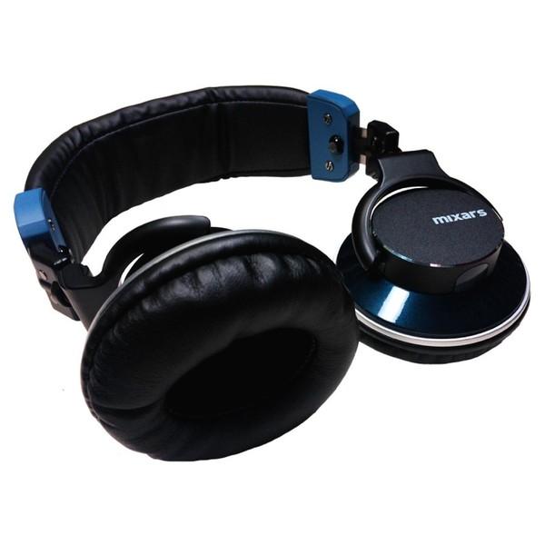 Mixars MXH22 DJ Headphones - Angled Flat 2