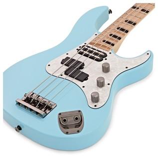 Yamaha Attitude Limited 3 Billy Sheehan Bass Guitar, Sonic Blue