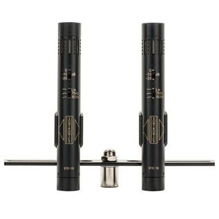 Sontronics STC-1S Mics Stereo Pair, Black - Front