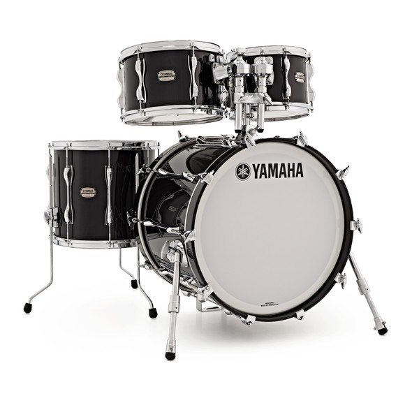 "Yamaha Recording Custom 20"" 4pc Shell Pack, Solid Black"