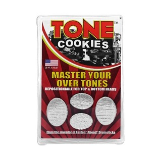 Tone Cookies Percussion Dampeners, Silver