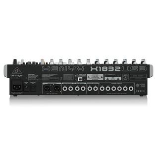 Behringer X1832USB Mixer, Rear