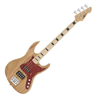 Milwaukee Bass Guitar by Gear4music, Natural