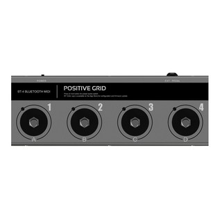 Positive Grid BT4 Bluetooth Midi Pedal Front