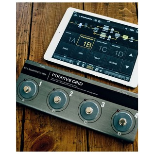 Positive Grid BT4 Bluetooth Midi Pedal 3