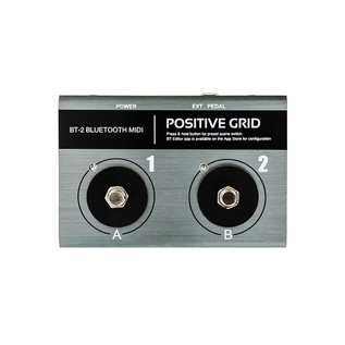 Positive Grid BT2 Bluetooth Midi Pedal Front