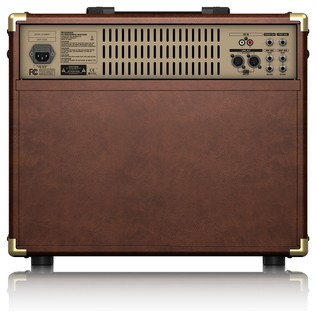 ACX1800 Ultracoustic Amp, Rear