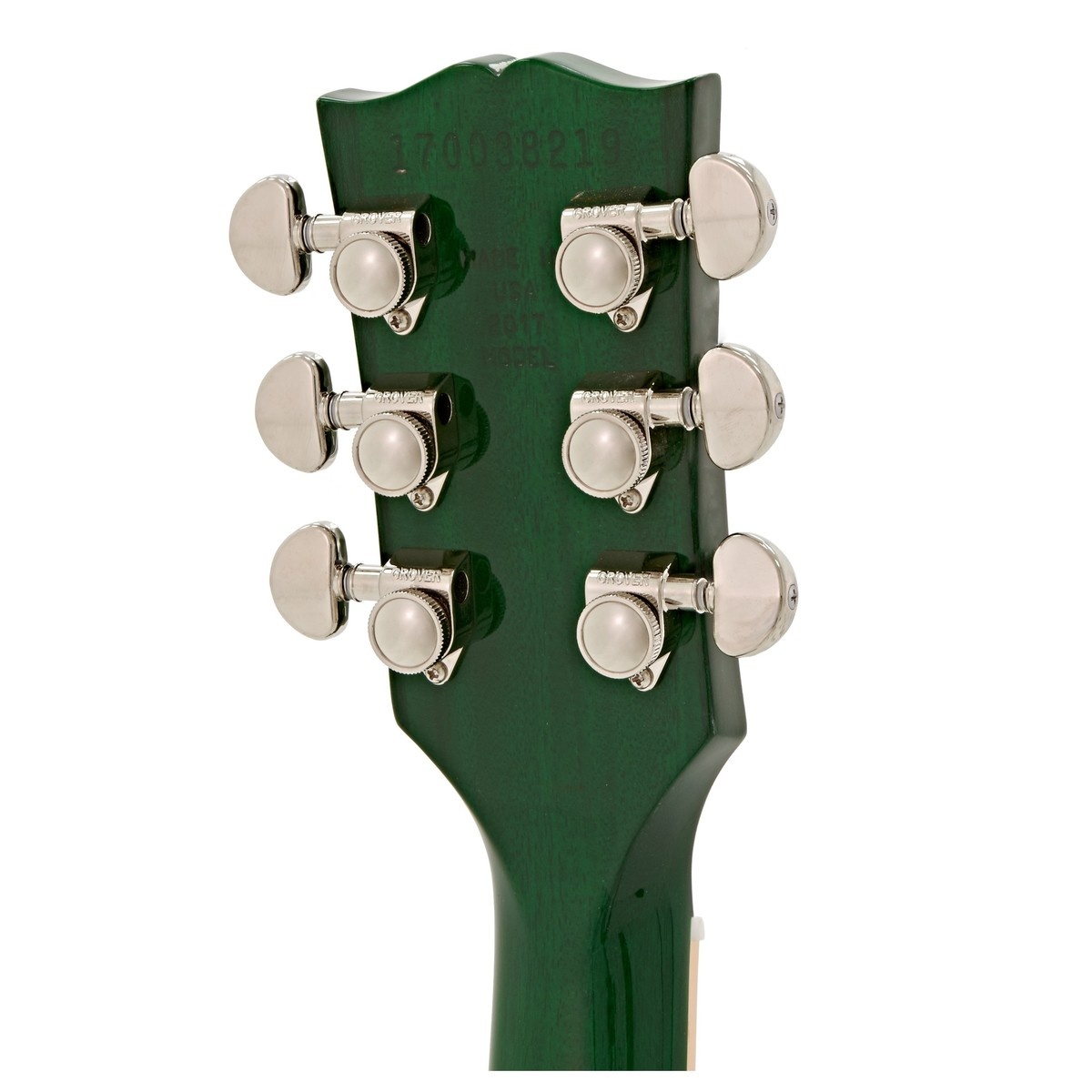 Disc Gibson Les Paul Classic T 2017 Left Handed Green Burst At