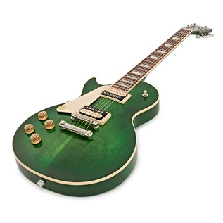 Gibson Les Paul Classic T Left Handed Guitar, Green Burst (2017)