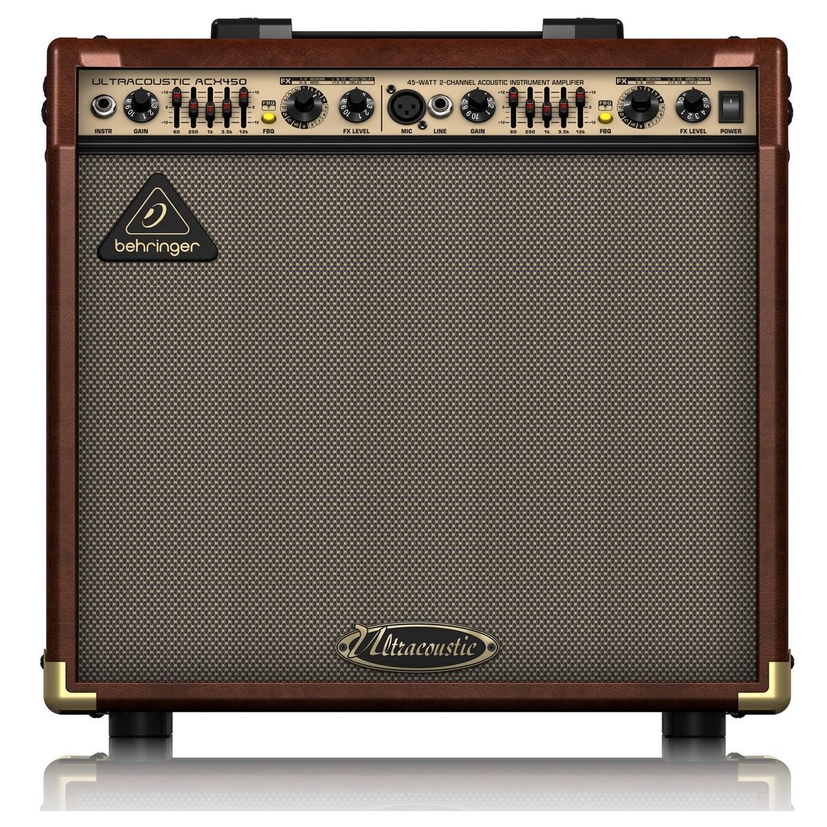 behringer acx450 ultracoustic amp at gear4music. Black Bedroom Furniture Sets. Home Design Ideas