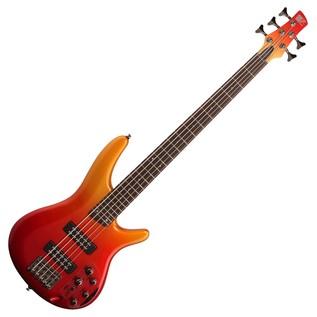 Ibanez SR305E 5-String Bass Guitar, Autumn Fade Metallic