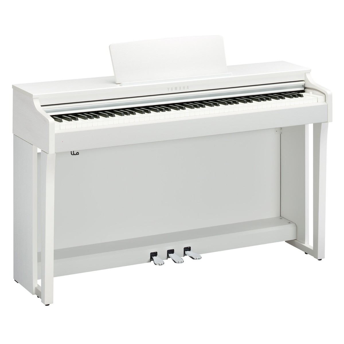 yamaha clp 625 digital piano satin white at gear4music. Black Bedroom Furniture Sets. Home Design Ideas