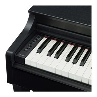 Yamaha CLP625B Piano Controls