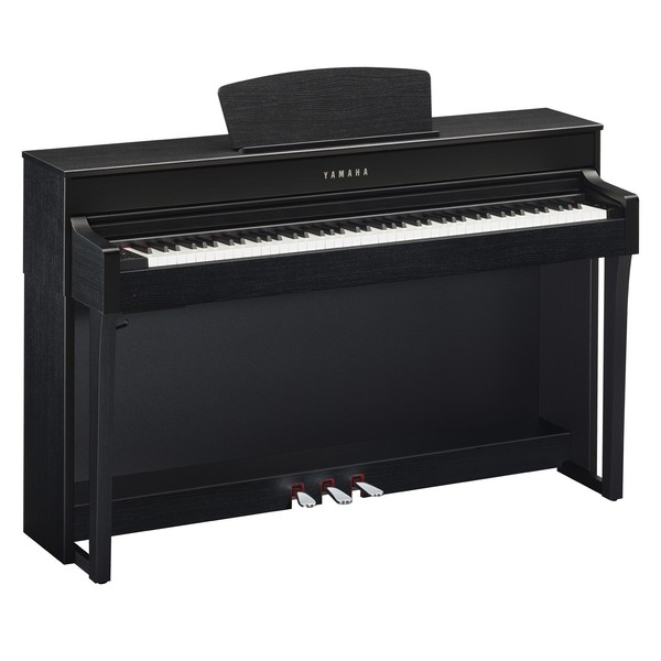 Yamaha CLP635B Piano Side