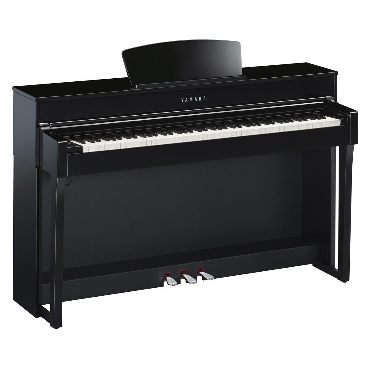 yamaha clp 635 digital piano polished ebony at gear4music. Black Bedroom Furniture Sets. Home Design Ideas