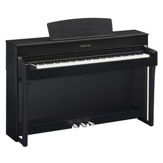 Yamaha CLP645B Piano Angle