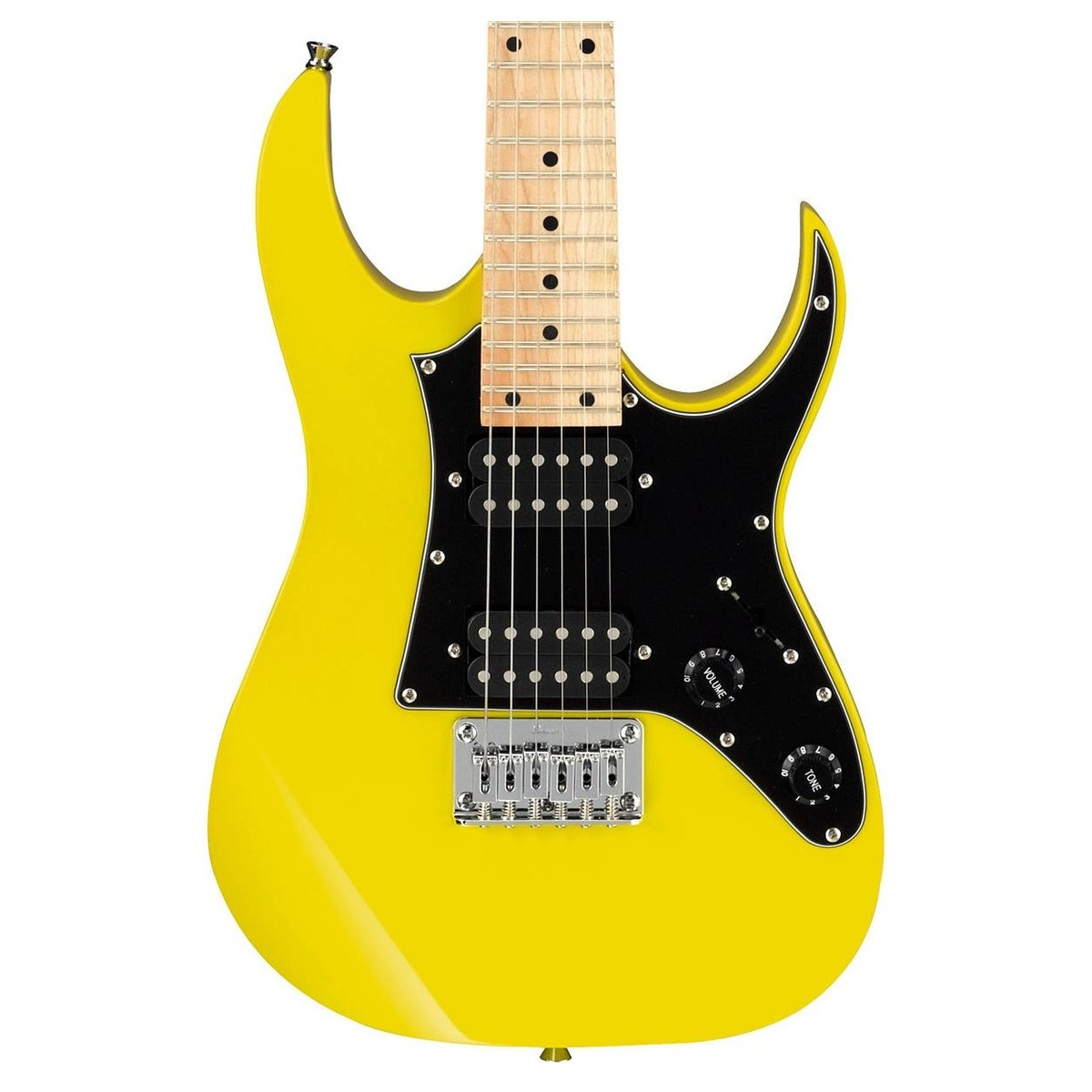 Ibanez MiKro GRGM21M Electric Guitar, Yellow at Gear4music.com