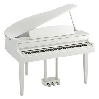 Yamaha CLP665GP Piano Side