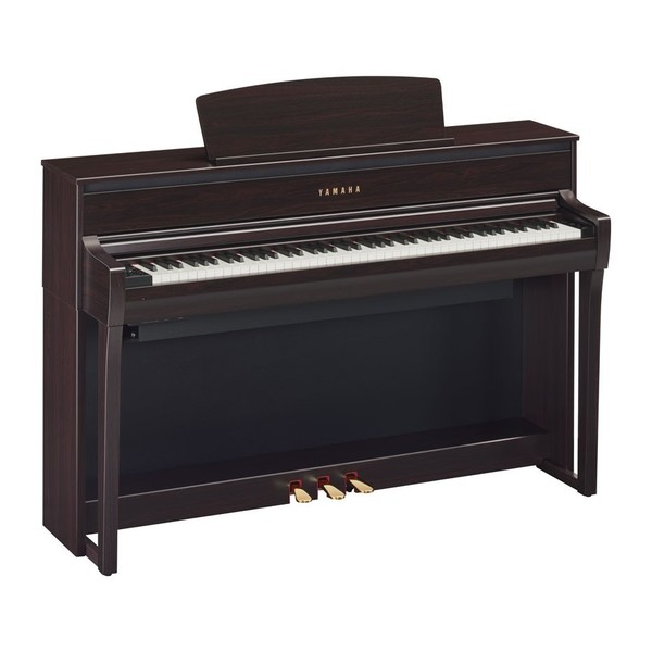 Yamaha CLP 675 Digital Piano, Rosewood