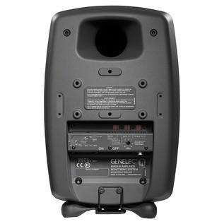 Genelec 8040A Smart Active Monitor, Dark Grey - Rear
