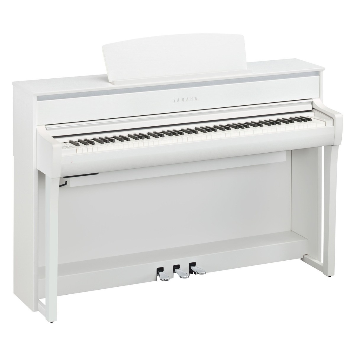 Yamaha clp 675 digital piano white at for Yamaha digital piano dealers