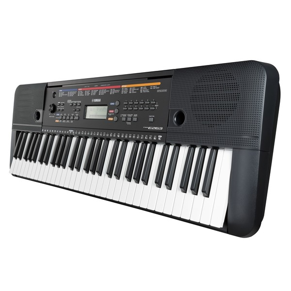 Yamaha PSR-E263 Side