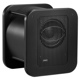 Genelec 7370A Smart Active Monitoring Subwoofer (Dark Grey) - Angled