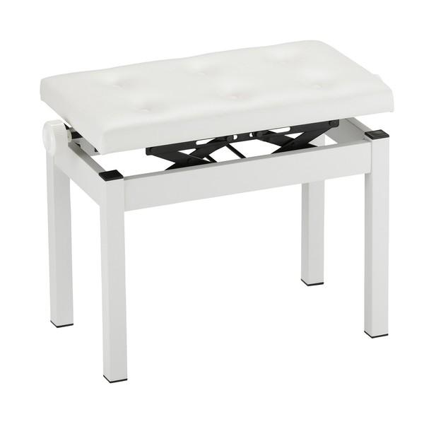 Korg PC-770 Piano Bench, White