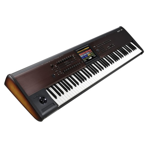 Korg Kronos LS Synthesizer Workstation - Angled