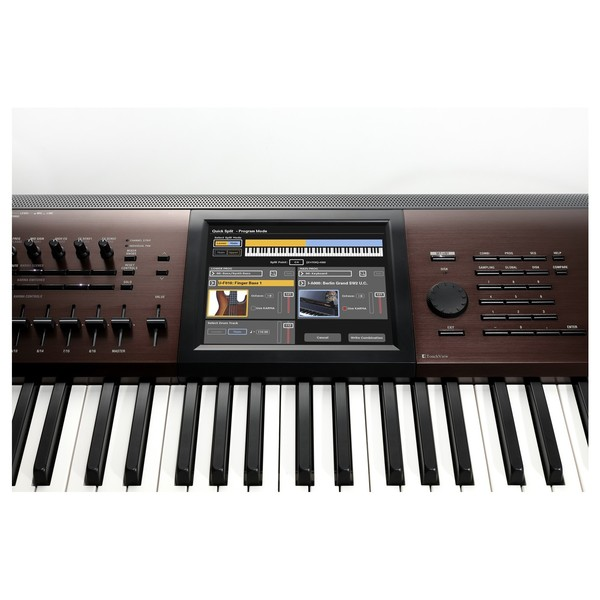 Korg Kronos 2017 Light-Touch Music Workstation - TouchView Display
