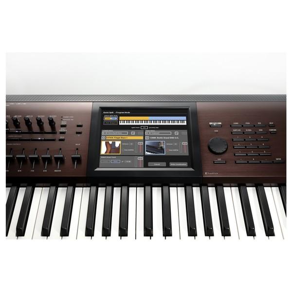 Korg Kronos 2017 Light-Touch Music Workstation - TouchView Display