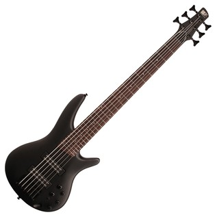 Ibanez SR306EB Bass Guitar, Weathered Black
