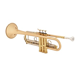 B&S MBX3 Heritage Trumpet, Clear Lacquer