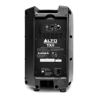 Alto TX8 8-Inch Active PA Speaker - Rear