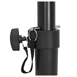 PA Speaker Stands (Pair) With Carry Bag - Stand Detail