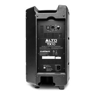 Alto TX10 10-Inch Active PA Loudspeaker - Rear