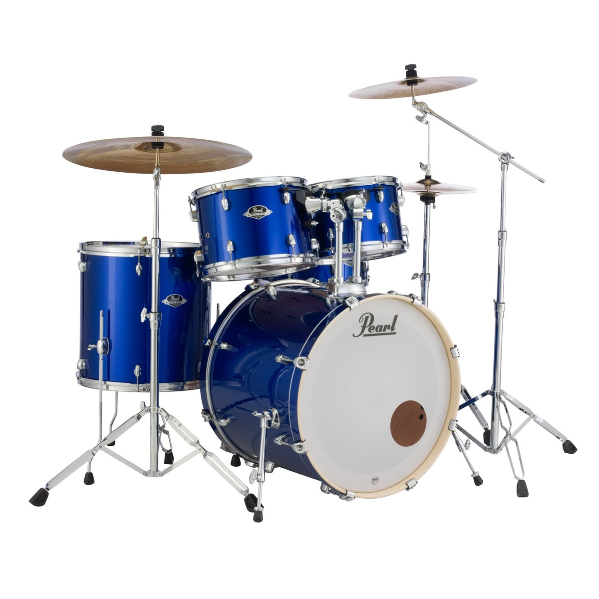 pearl export exx 22 fusion drum kit high voltage blue at gear4music