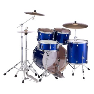 Pearl Export Drum Kit, High Voltage Blue