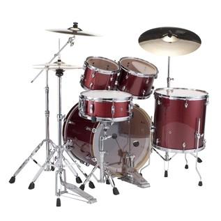 Pearl Export Drum Kit, Black Cherry Glitter