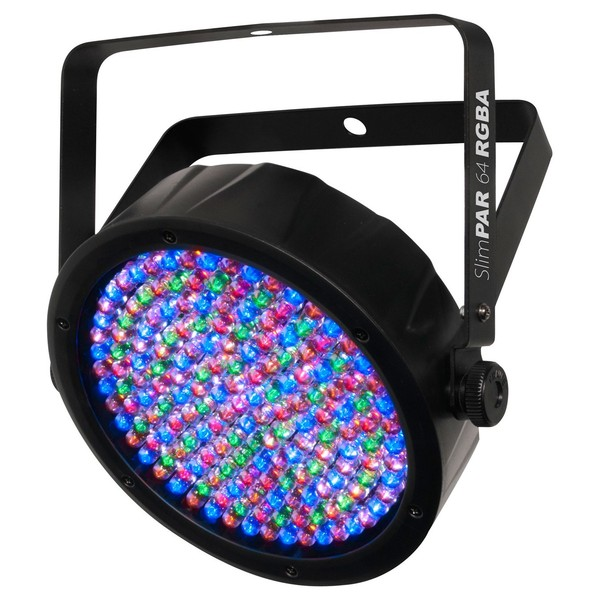 Chauvet SlimPAR 64 RGBA DMX Light - Angled 2