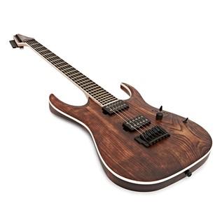 Ibanez RGAIX6U Iron Label Electric Guitar, Antique Brown Stain