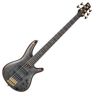 Ibanez Premium SR1405 Bass Guitar, Transparent Gray Black