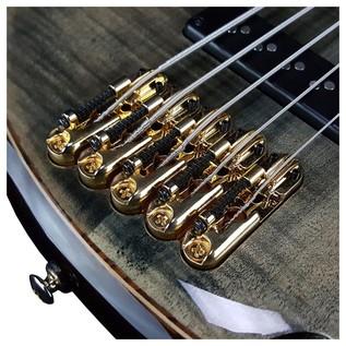 Premium SR1405 Bass Guitar, Transparent Gray Black