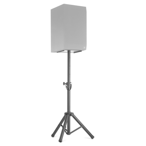 Stagg SMOS-20 Height Adjustable Monitor/Lights Stands - With Speaker (Speaker Not Included)
