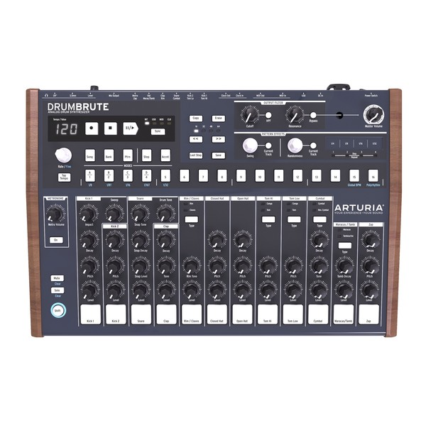 Arturia DrumBrute Drum Machine - Top