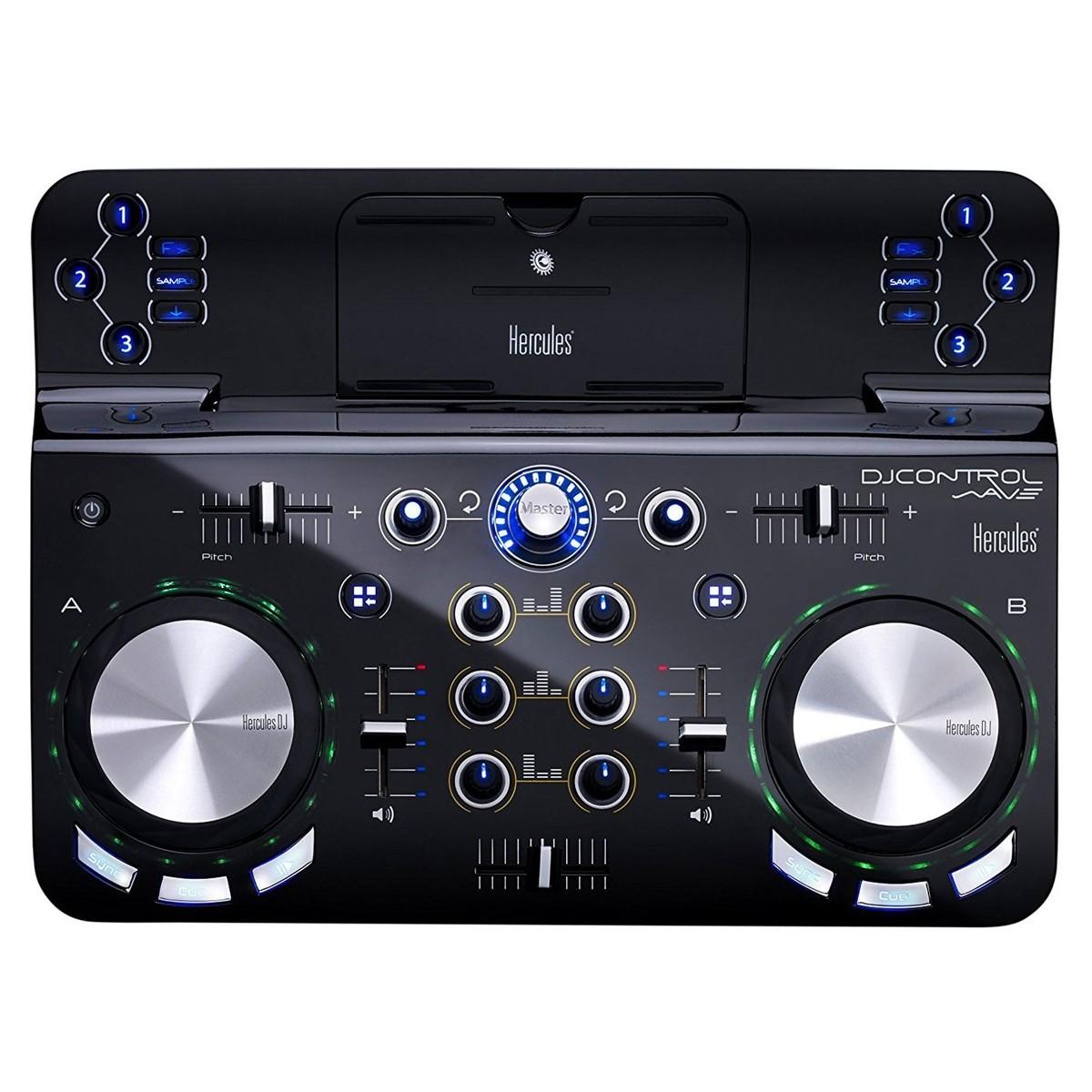 Hercules DJ Control Wave B Stock At