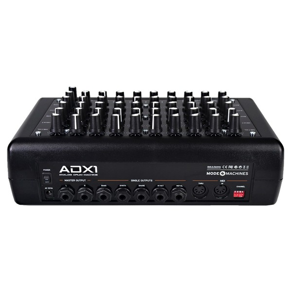 Mode Machines ADX-1 Analog Drum Machine - Rear