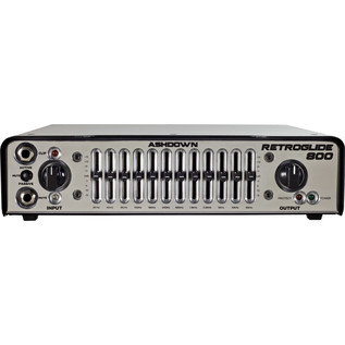 Ashdown Retroglide-800 Bass Head 2