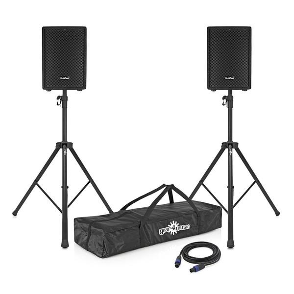 """SubZero 300W 10"""" Active/Passive Speaker System"""